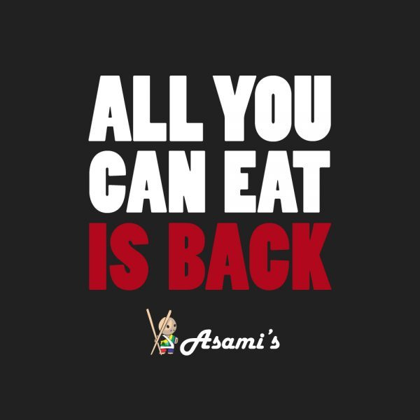 All You Can Eat Sushi Voucher
